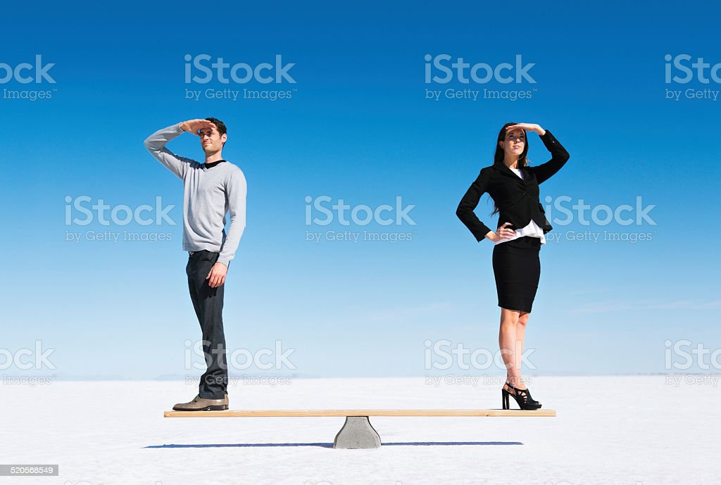 Equal Gender Opportunities stock photo