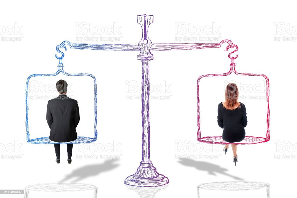 Equality concept stock photo