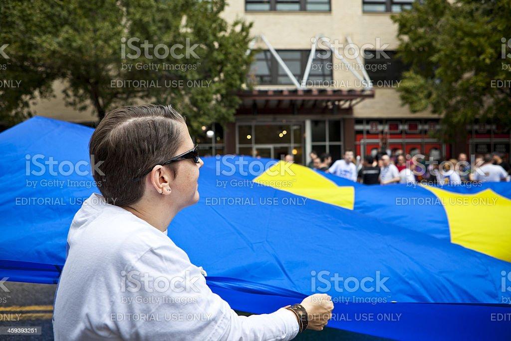 Equality Flag royalty-free stock photo