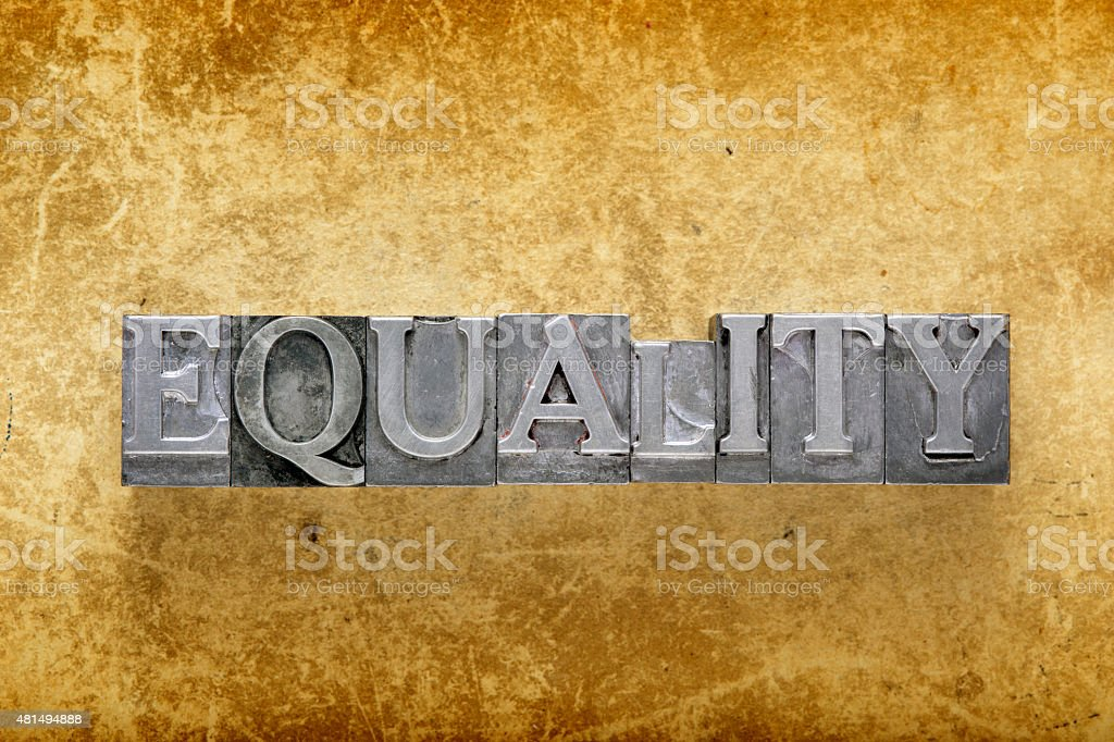 equality stock photo
