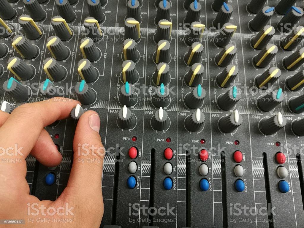 equalizer music stock photo