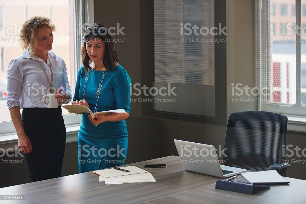Equally responsible for the solutions stock photo
