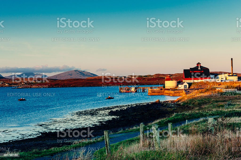 Equateq Pharmaceutical, Lewis, Scotland. stock photo