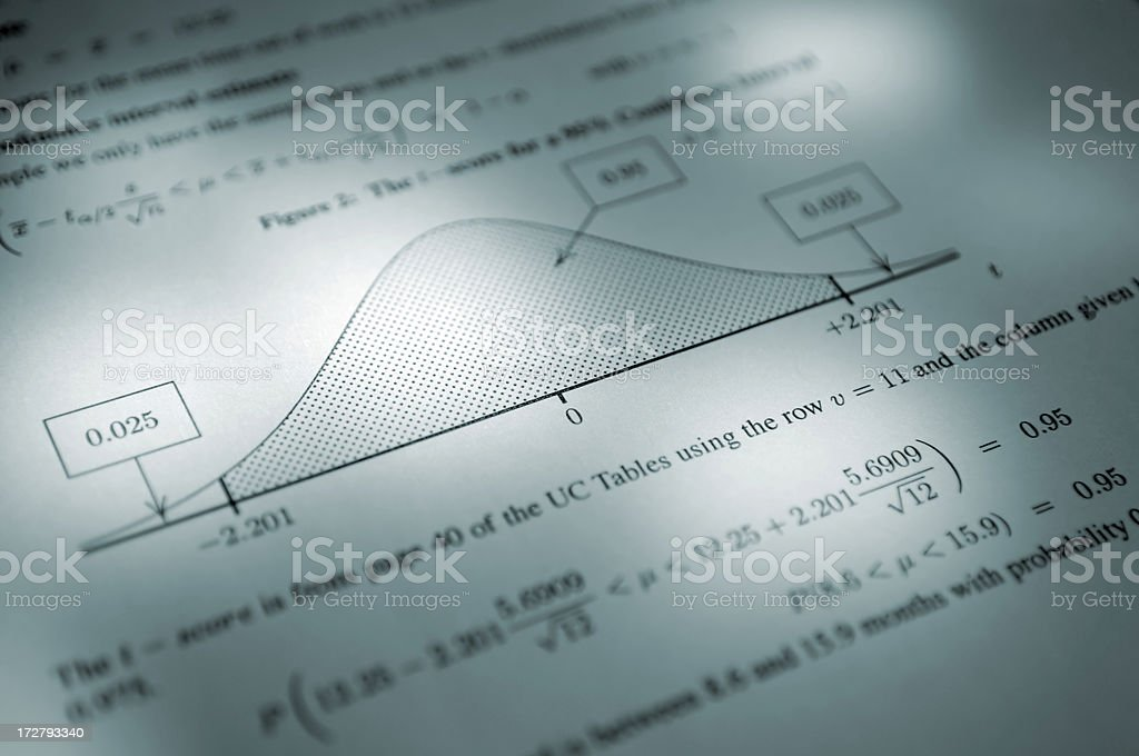 equations series royalty-free stock photo