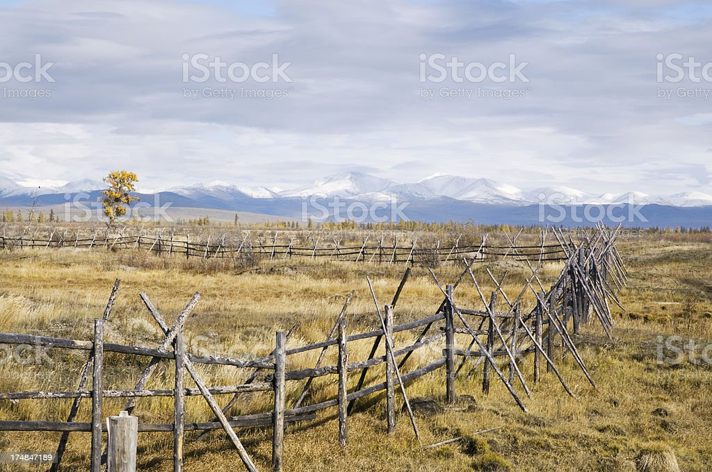 Equestrian area (fragment). royalty-free stock photo