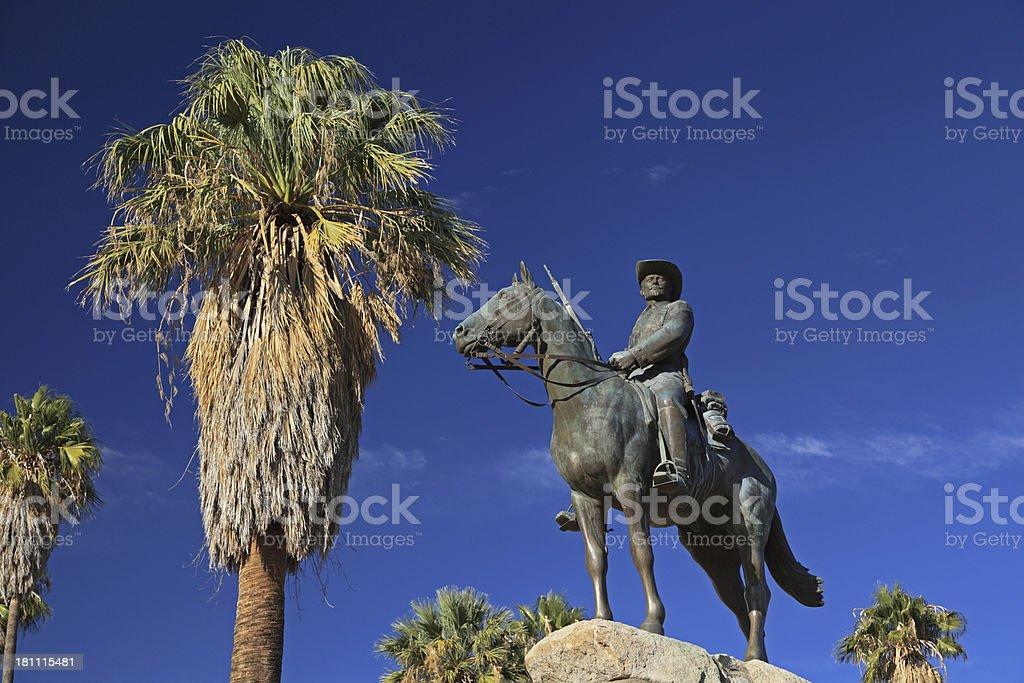 Reiterdenkmal stock photo