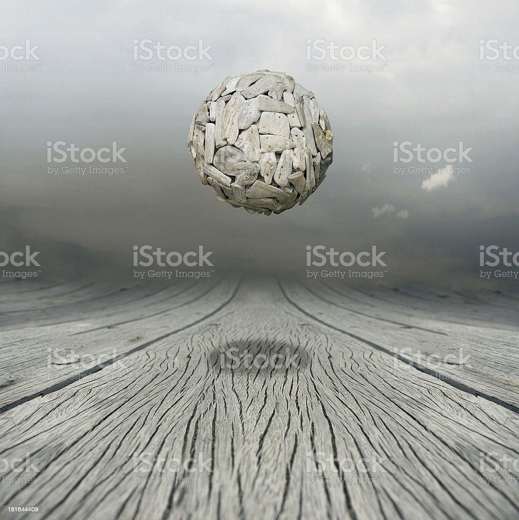 Equilibrium royalty-free stock photo