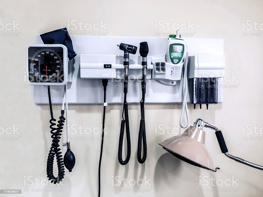 Equipment at a Medical Office stock photo