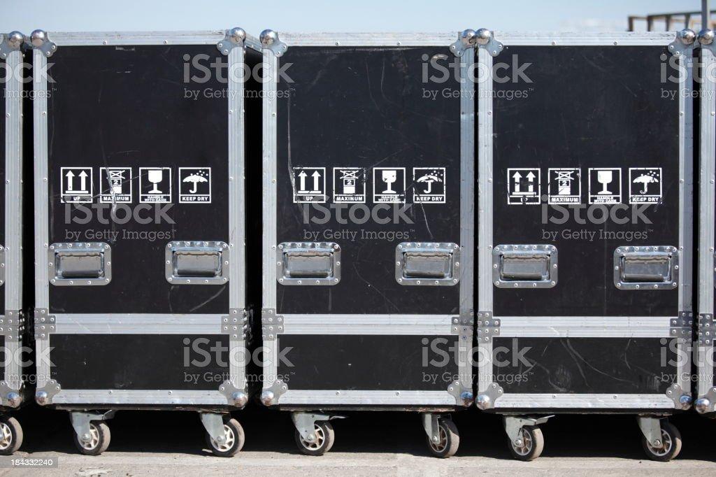 Equipment Cases stock photo