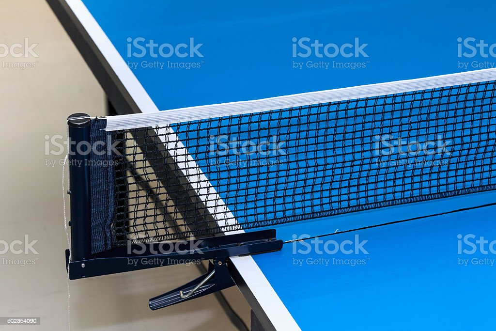 Equipment for Table Tennis. stock photo