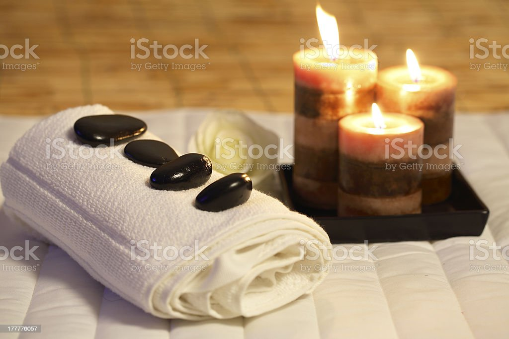 SPA equipment stock photo