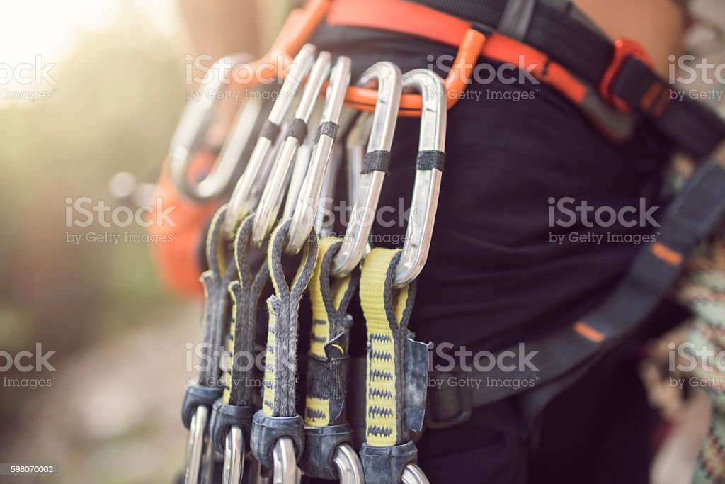 Equipped and ready stock photo