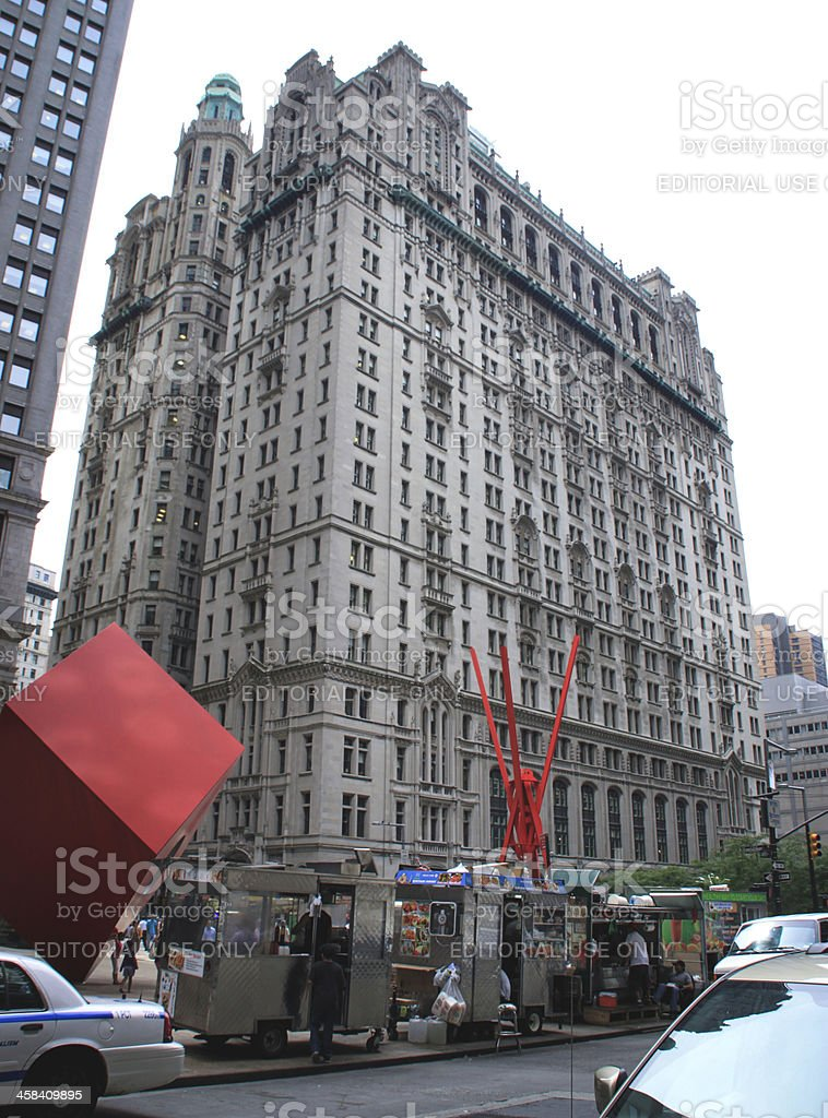 Equitable Building, New York stock photo