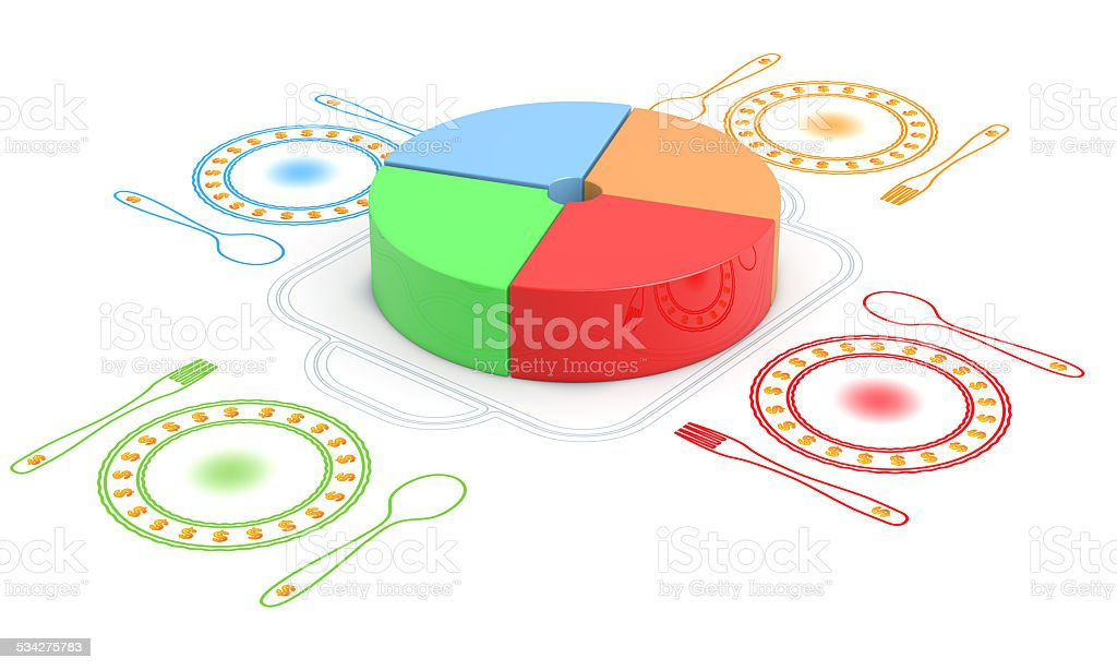 equitable revenue sharing stock photo