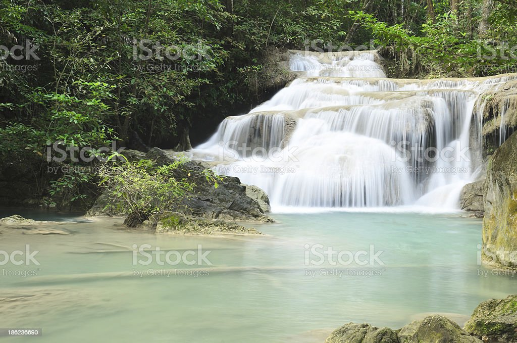 Era van waterfall royalty-free stock photo