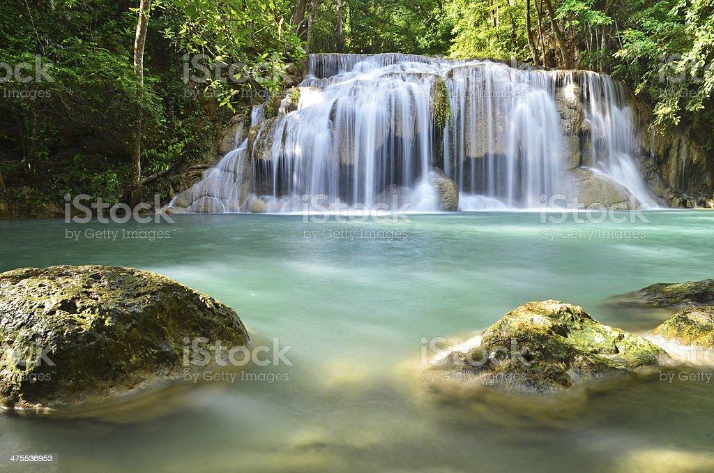 Era van waterfall stock photo