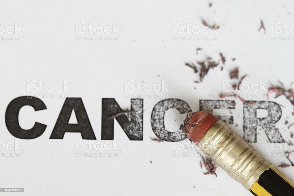Eradicate cancer stock photo