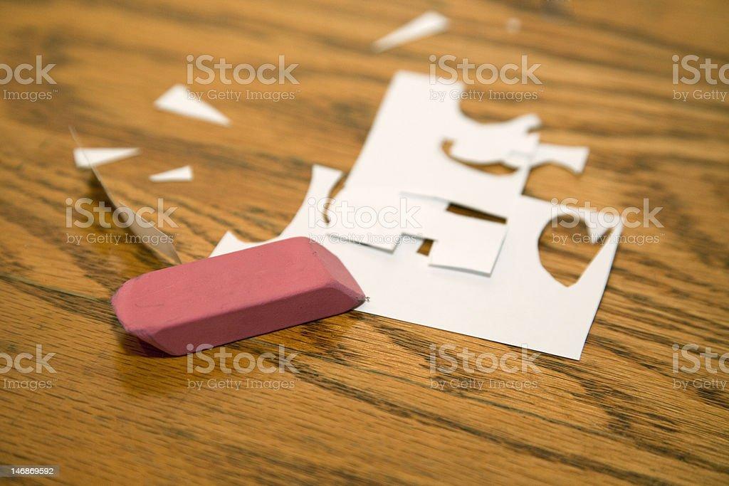 Eraser royalty-free stock photo