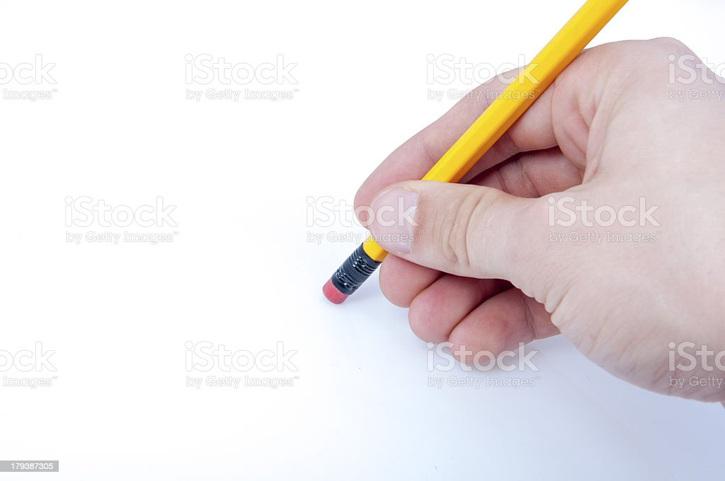 Eraser royalty-free stock photo