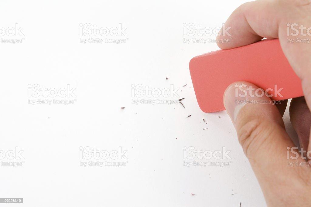 Eraser stock photo