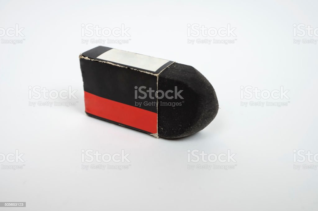 Eraser rubber-square royalty-free stock photo