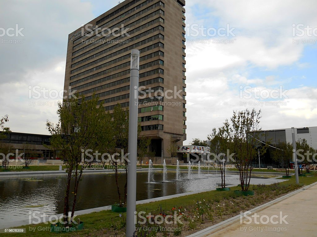 Erasmus University, Rotterdam, The Netherlands stock photo
