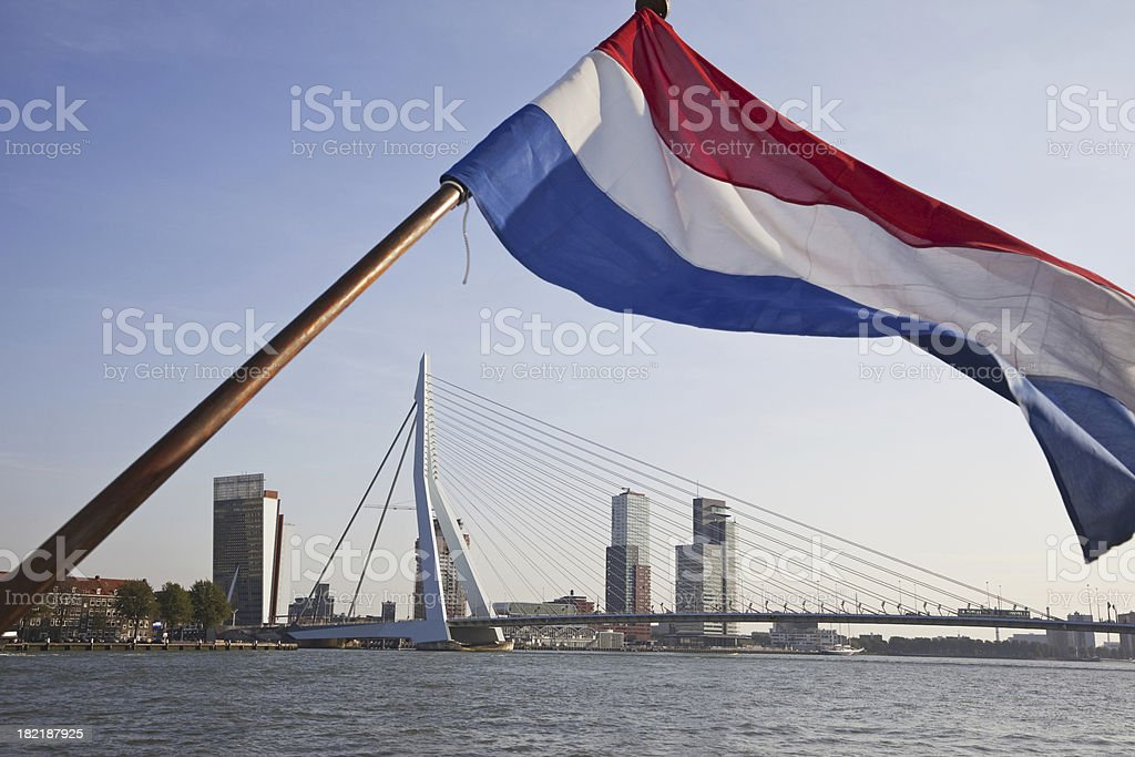 Erasmusbrug, Rotterdam # 2 XXXL stock photo