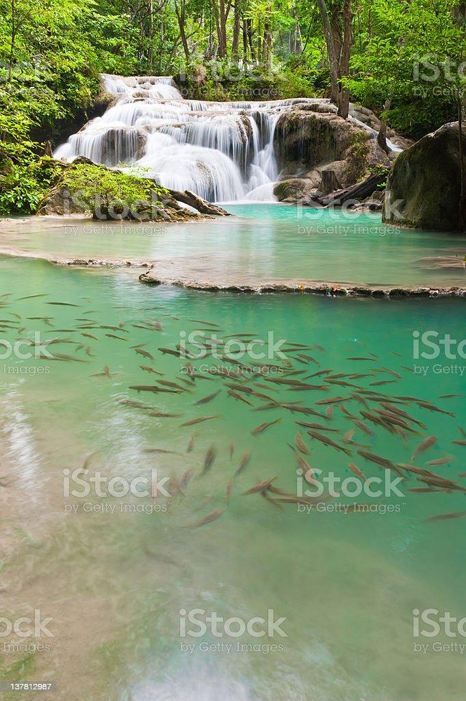 Eravan Waterfall stock photo
