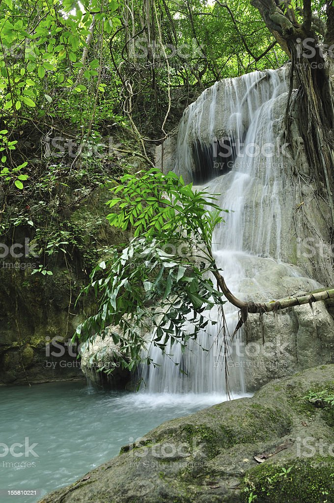 Eravan Waterfall royalty-free stock photo