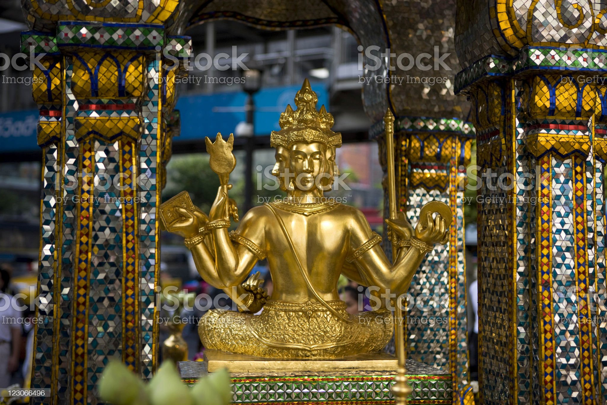 Erawan shrine - Bangkok royalty-free stock photo