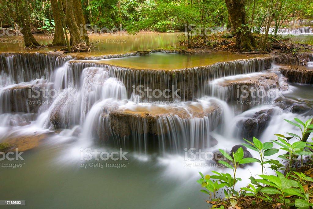 Erawan Waterfall II royalty-free stock photo