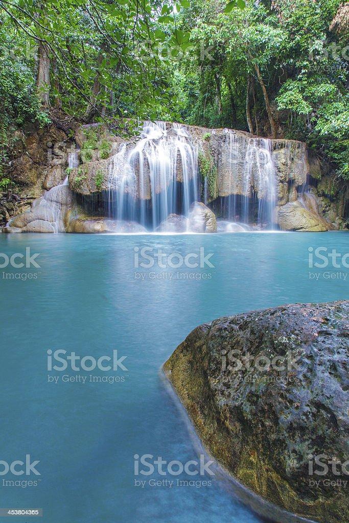 Erawan Waterfall royalty-free stock photo