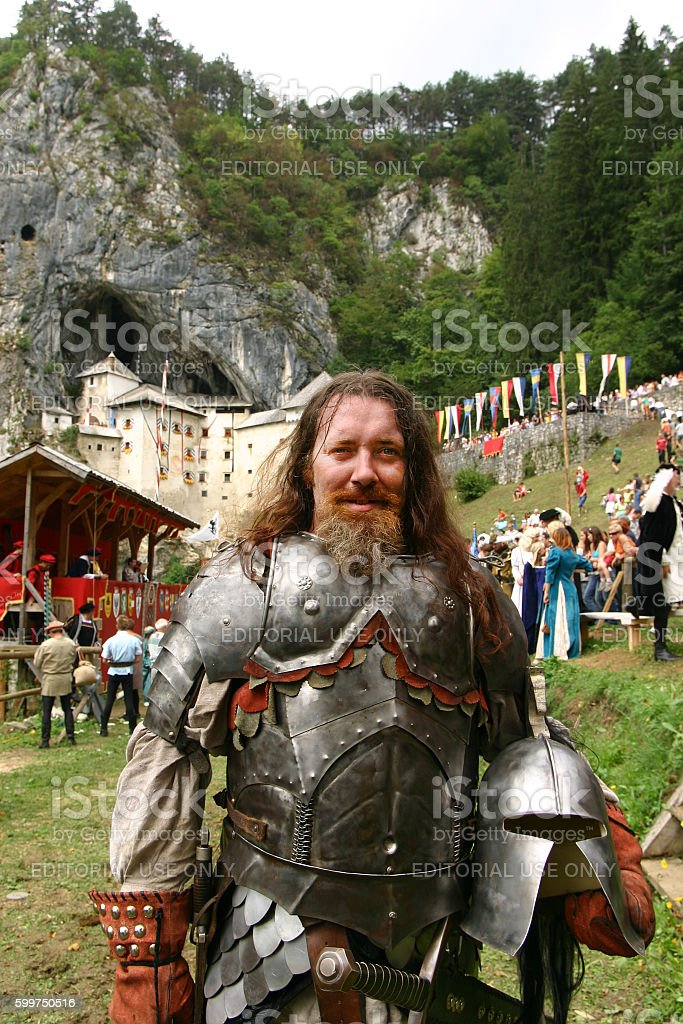 Erazem the Knight stock photo