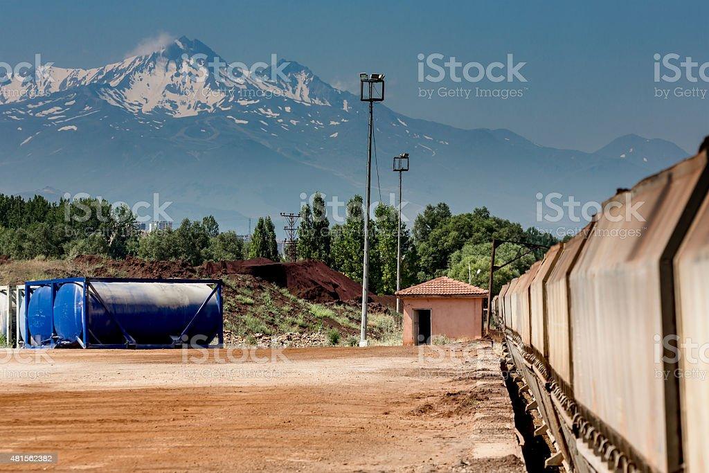 Erciyes Mountain stock photo