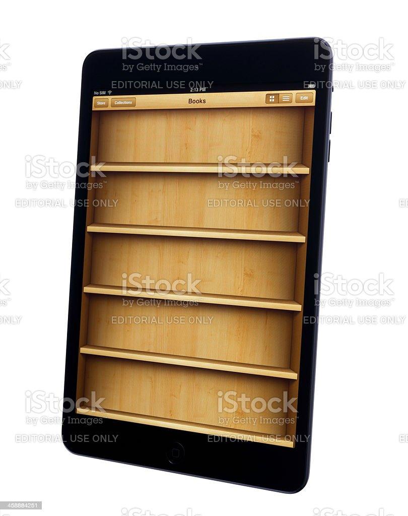 E-reader App. royalty-free stock photo
