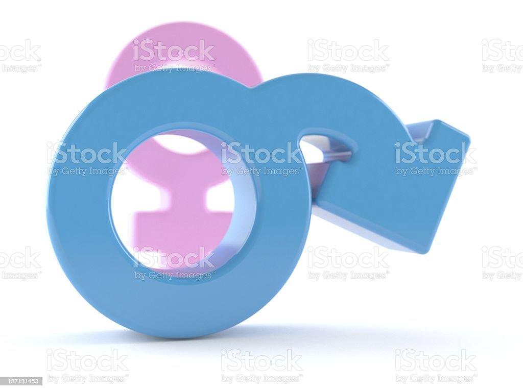 Erection problem stock photo