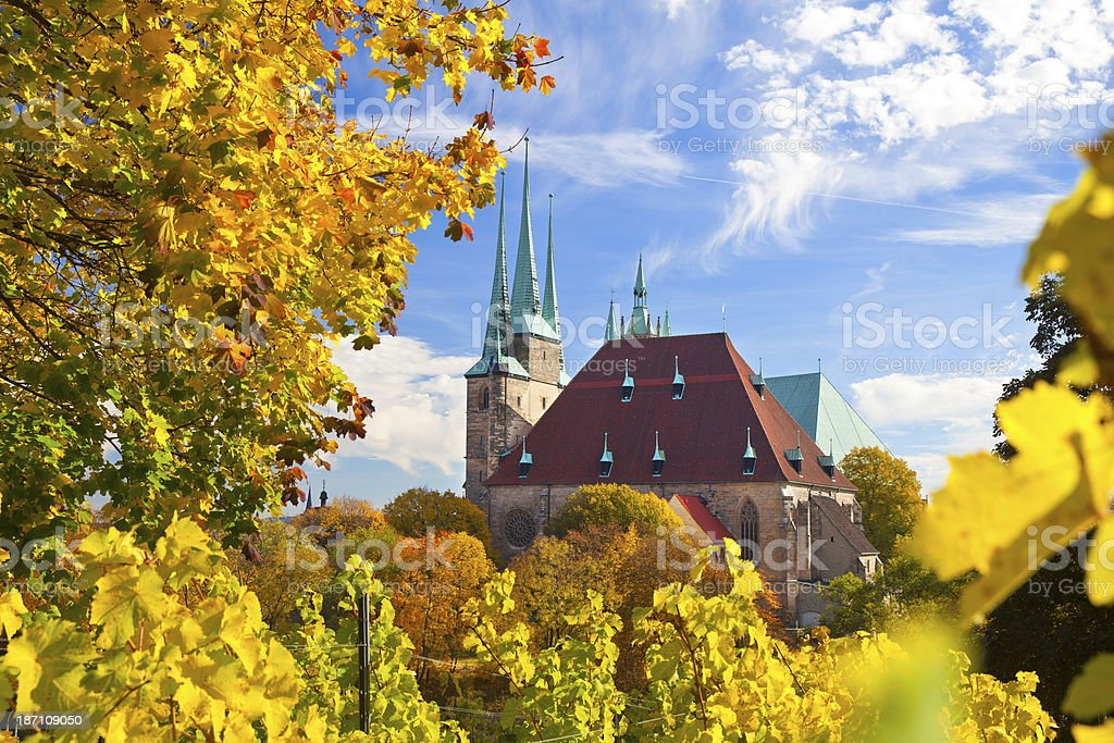 Erfurt, Germany stock photo