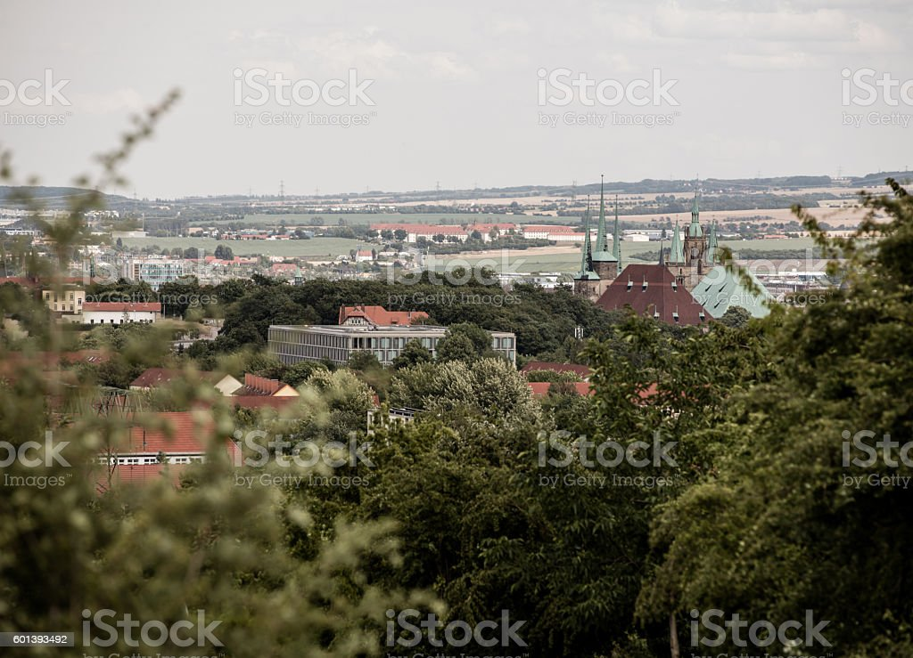 Erfurt stock photo