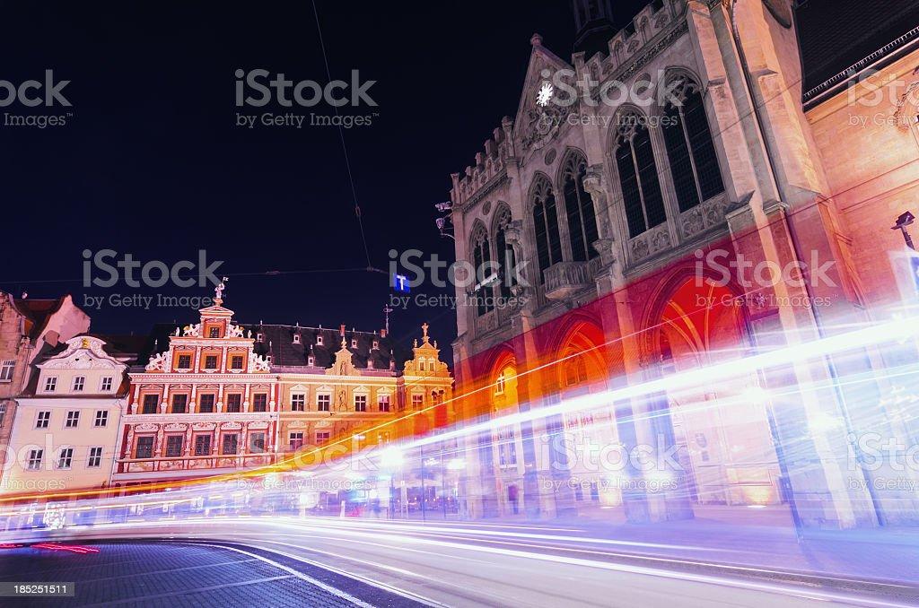 Erfurt Tram stock photo