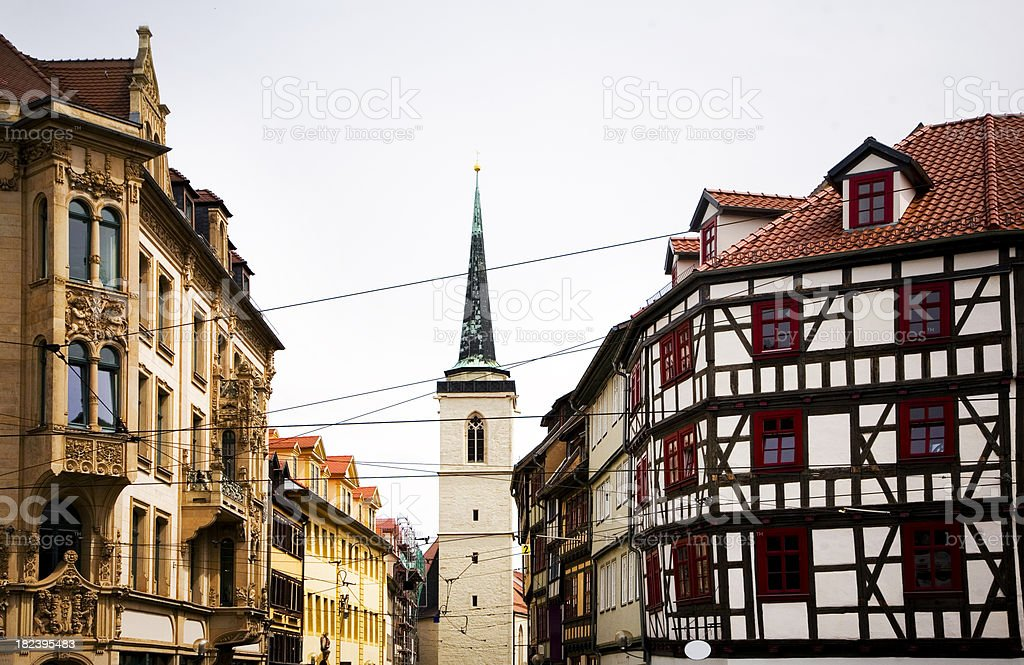 Erfurth, Germany royalty-free stock photo