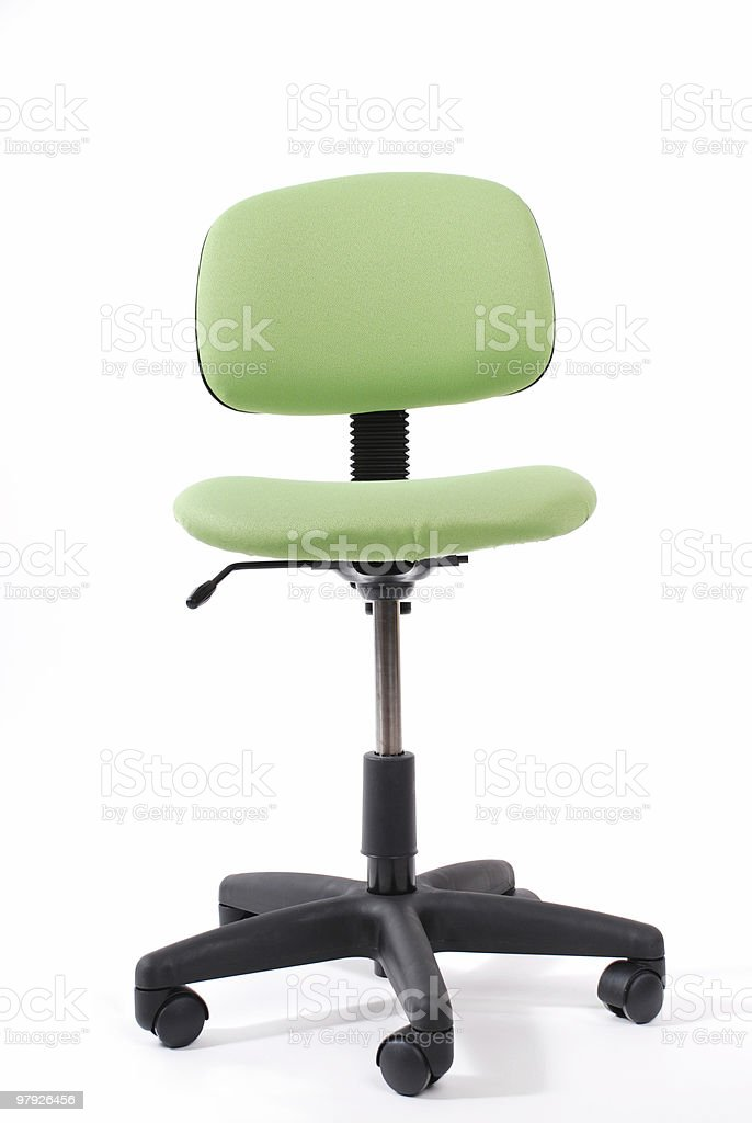 ergonomic chair royalty-free stock photo