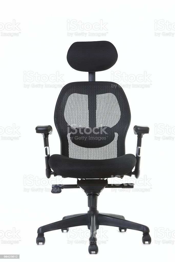 ergonomic office chair (series) royalty-free stock photo