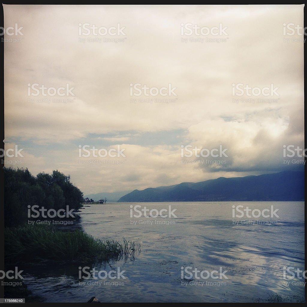 Erhai Lake royalty-free stock photo