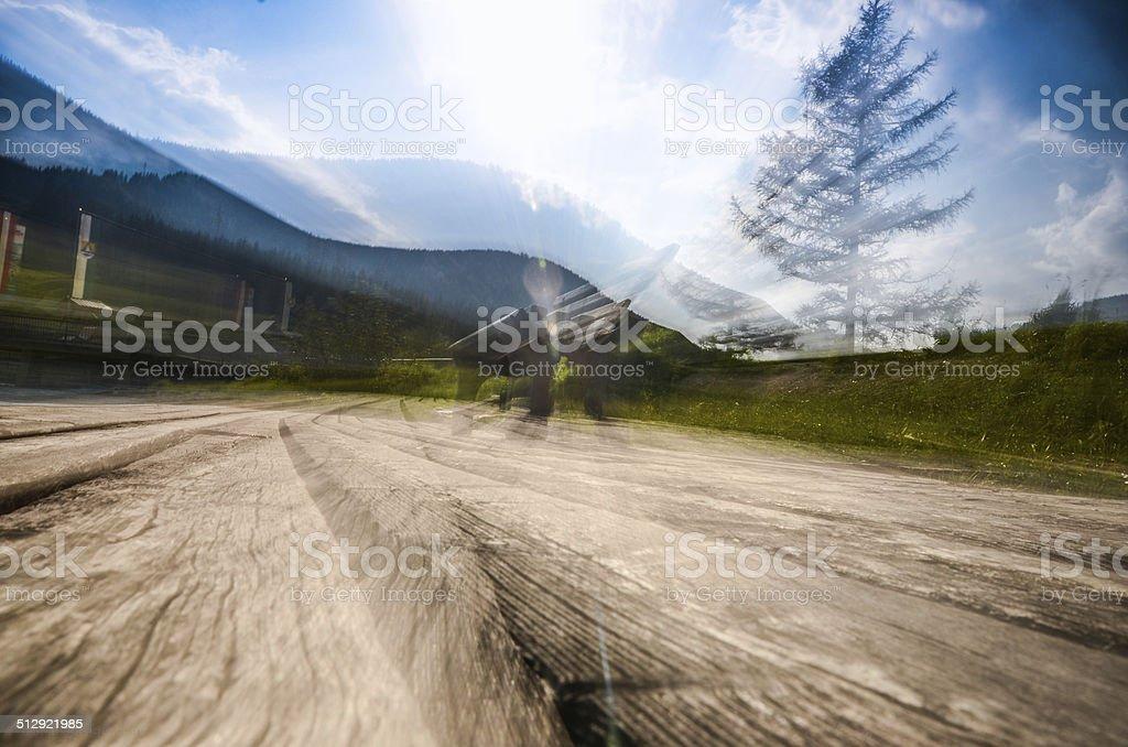 Erholung auf der Teichalm, Teichalmsee, Steiermark, ?sterreich stock photo