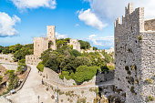 Erice medieval town, Sicily, Italy