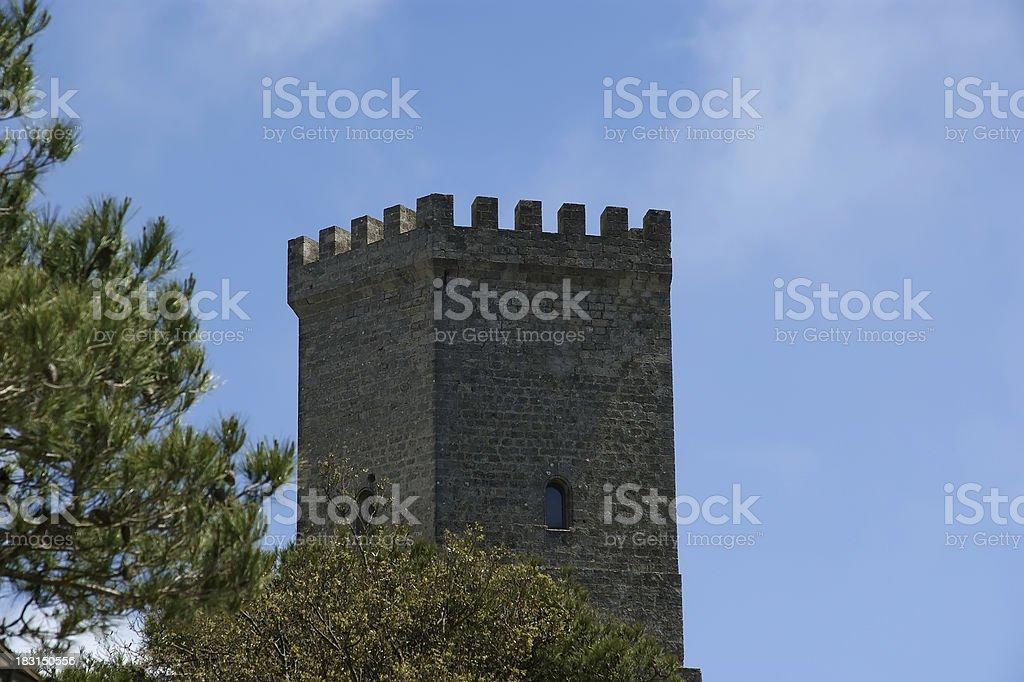 Erice, Sicily, Italy royalty-free stock photo