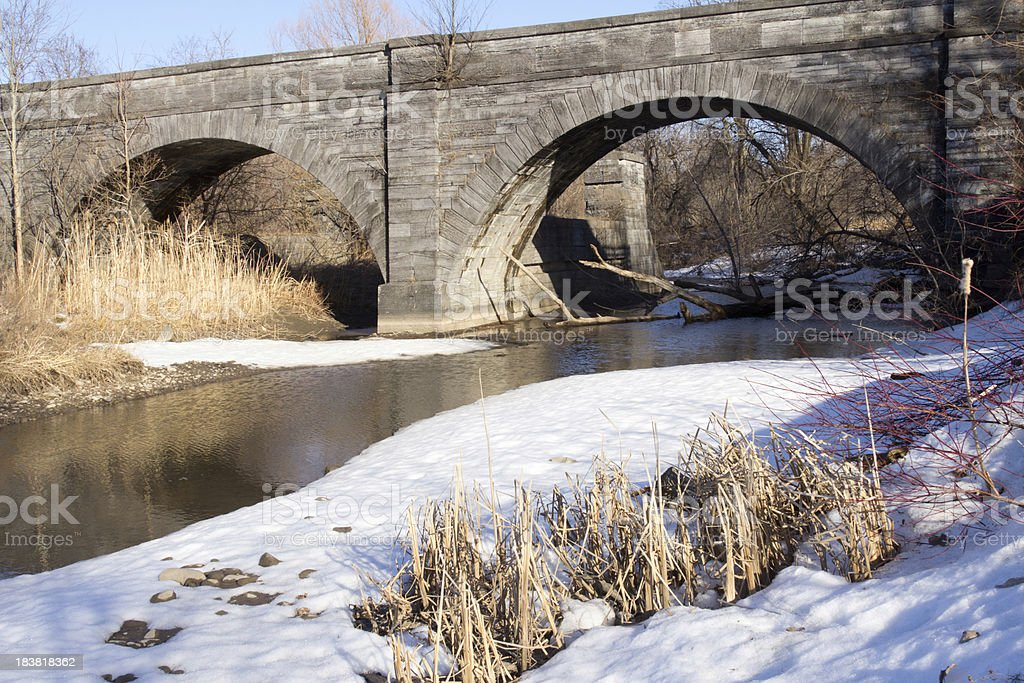 Erie Canal Aqueduct stock photo