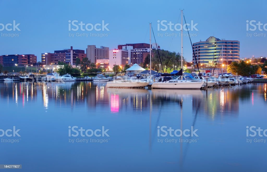 Erie stock photo