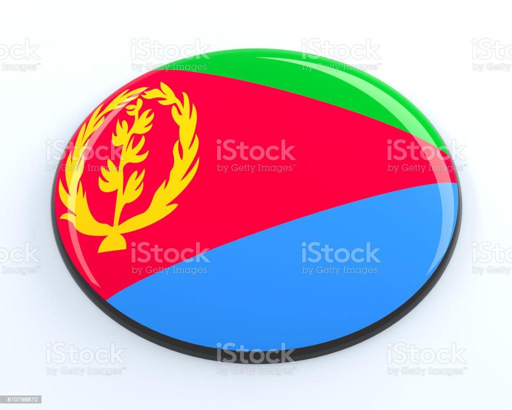 Eritrea badge stock photo