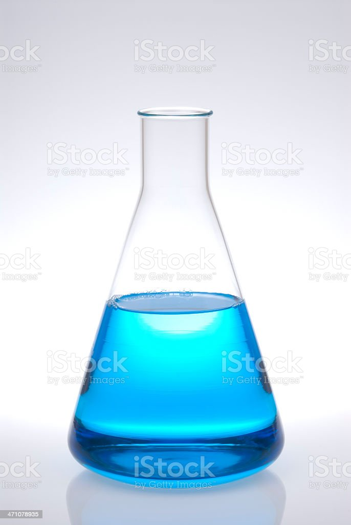 Erlenmeyer royalty-free stock photo